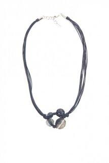 Morgandy necklace Boss Casual navy blue
