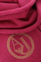 Szal Armani Jeans różowy