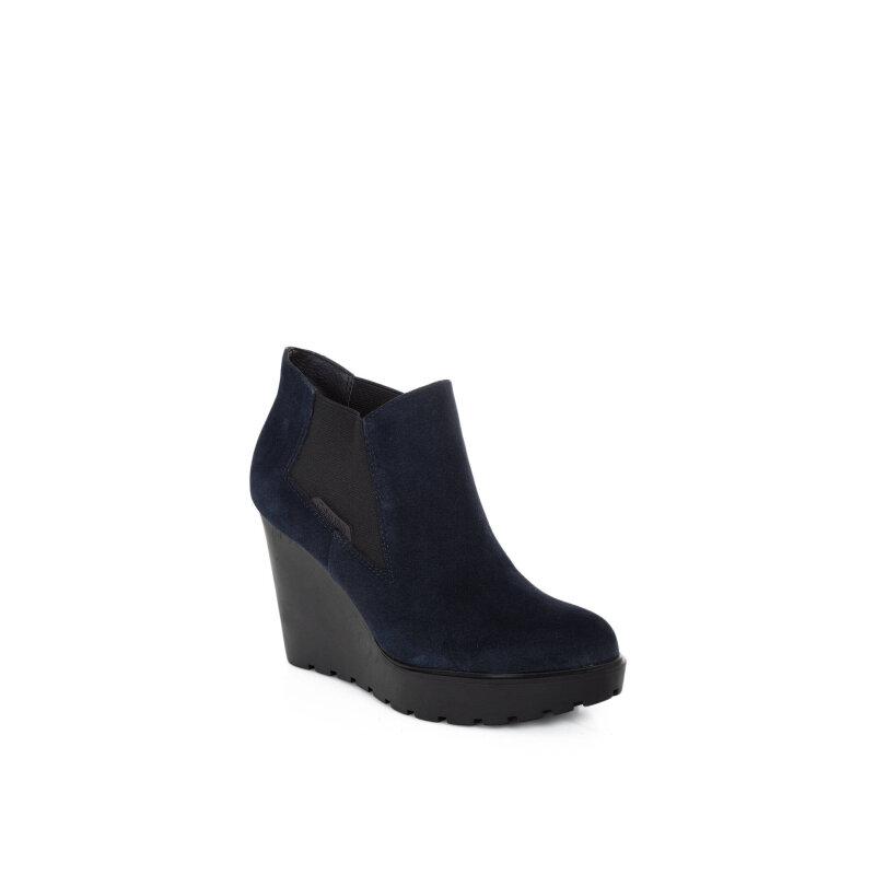 Sydney wedges Calvin Klein Jeans navy blue