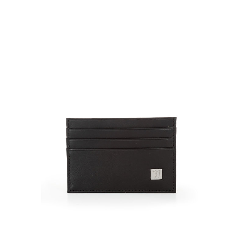 Card holder Trussardi Jeans black