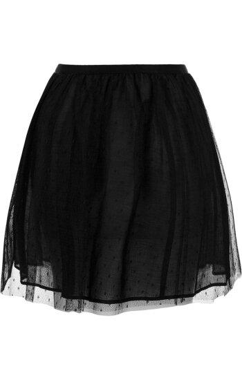Skirt Red Valentino black