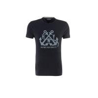 T-shirt Berny Tee S/S RF Tommy Hilfiger granatowy