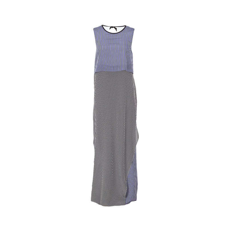 Dress SPORTMAX CODE navy blue