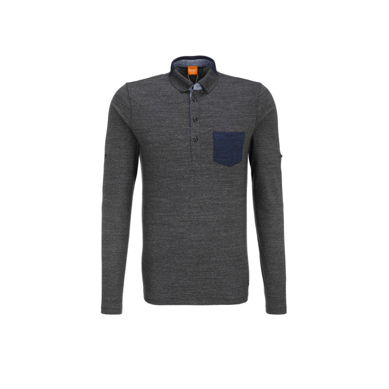 Patches 1 Polo Boss Orange charcoal