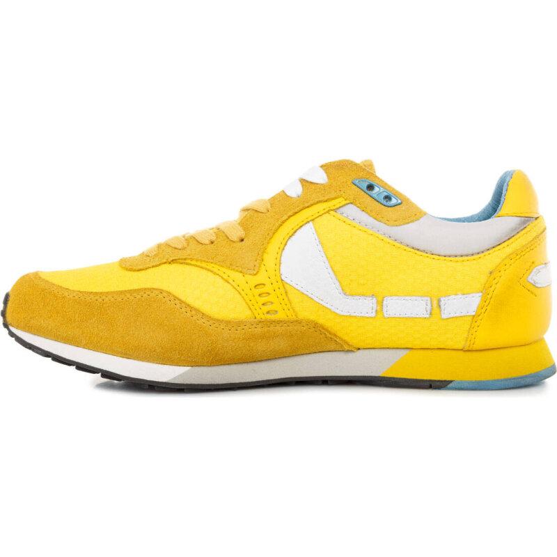 Sneakersy T3 Guess żółty