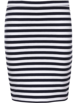 Tommy Hilfiger Spódnica Ame Knitted Stripe Pencil
