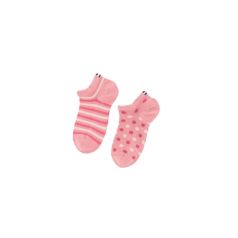 2 pack socks Tommy Hilfiger pink