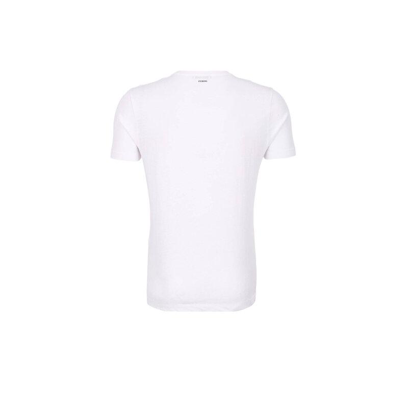 T-shirt Iceberg biały