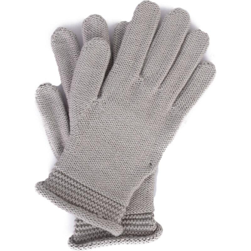 Rękawiczki Armani Jeans popielaty