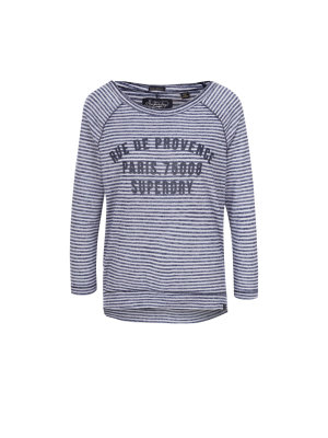 Superdry Bluzka Harbour Stripe Graphic