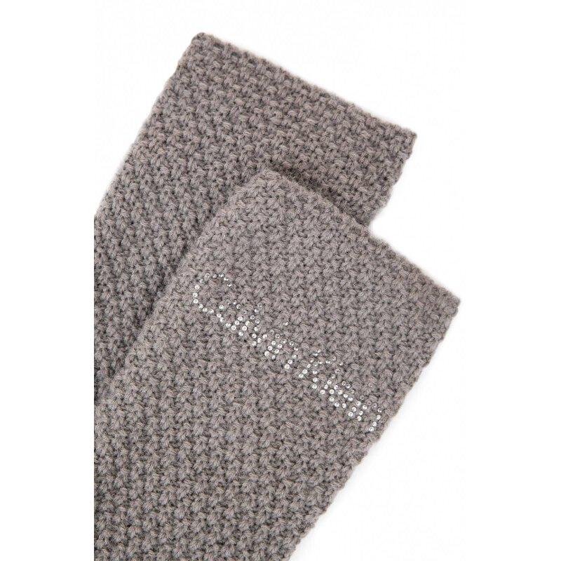 Rękawiczki Emma Calvin Klein Jeans piaskowy