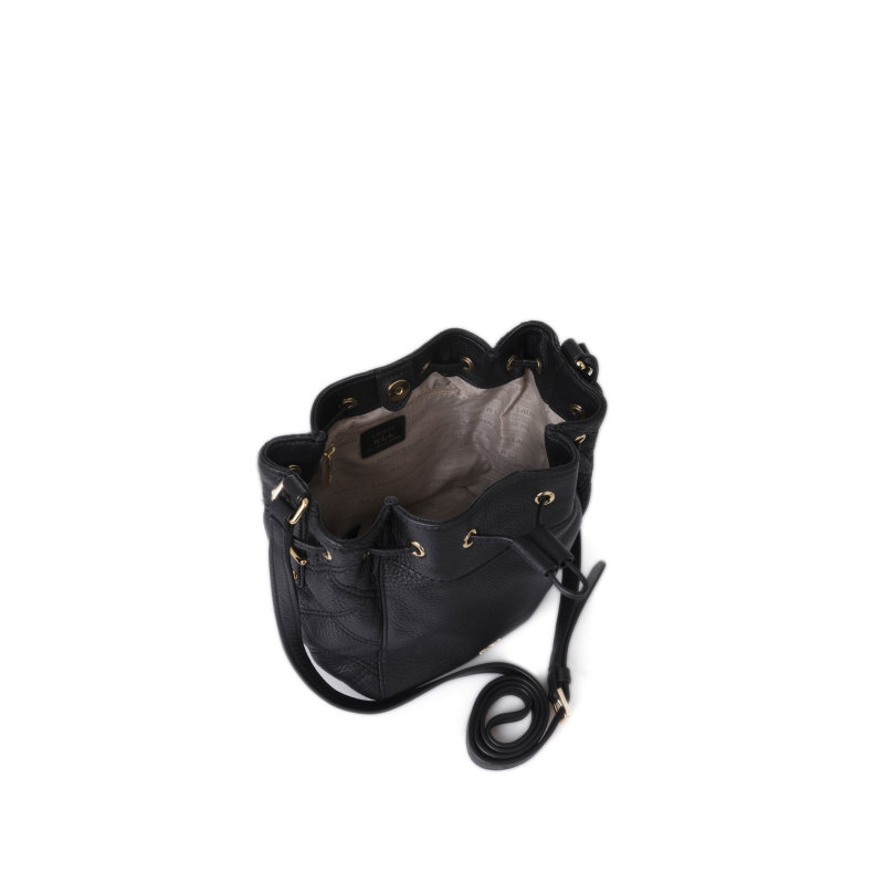 Worek Cara Mini Lauren Ralph Lauren czarny