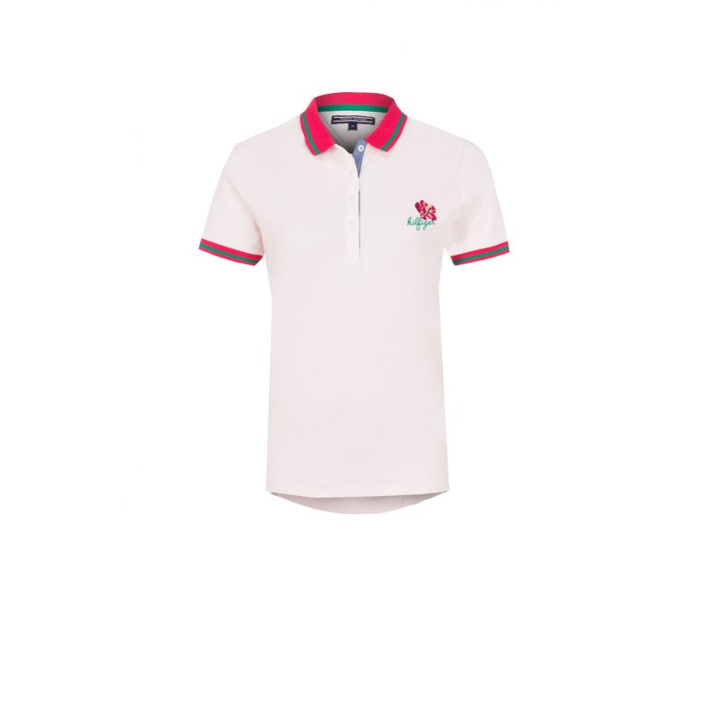 Emira polo Tommy Hilfiger powder pink