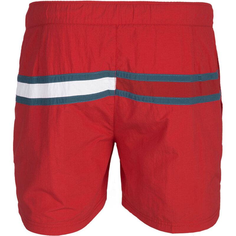 Szorty Kąpielowe Flag Swim Hilfiger Denim czerwony