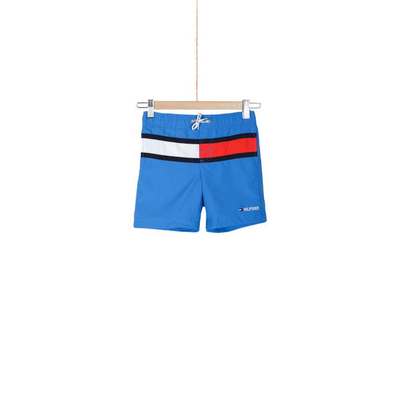 Szorty kąpielowe Flag Tommy Hilfiger niebieski