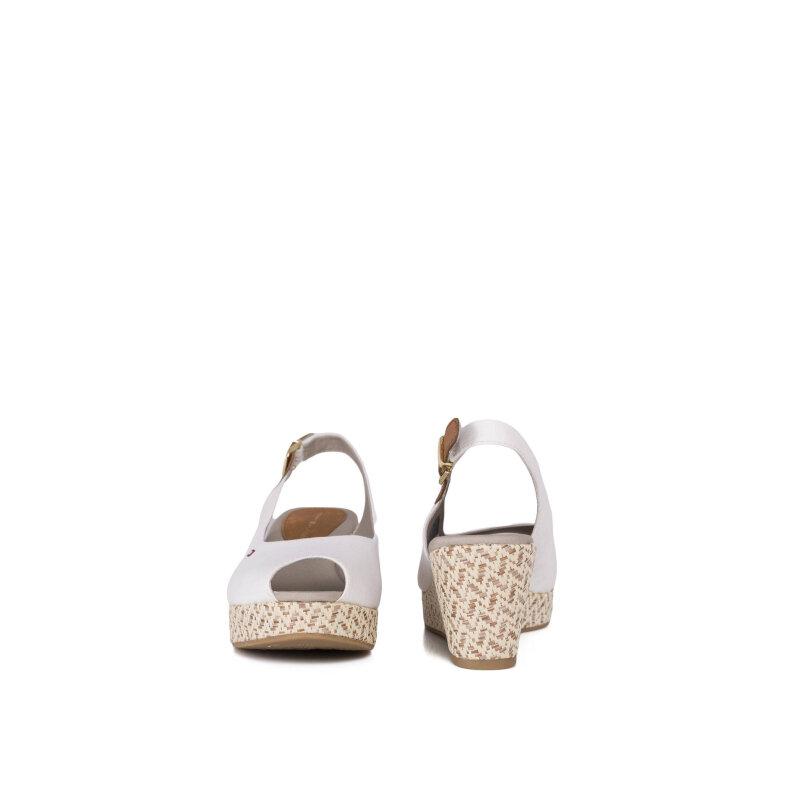 Sandały Elba 17D Tommy Hilfiger biały