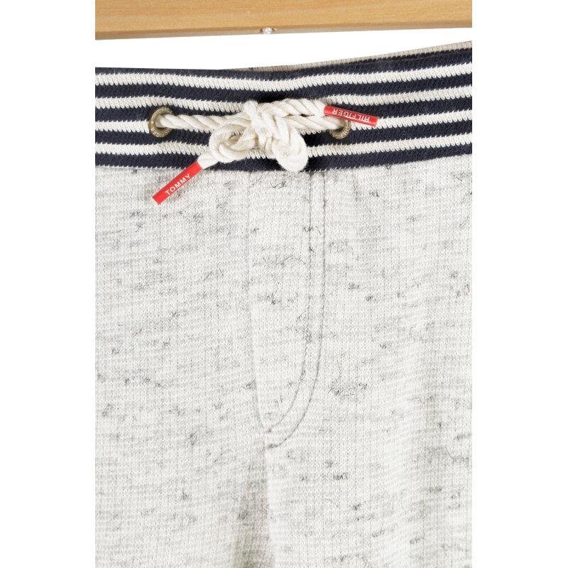 Spodnie dresowe Striped Rib Tommy Hilfiger szary