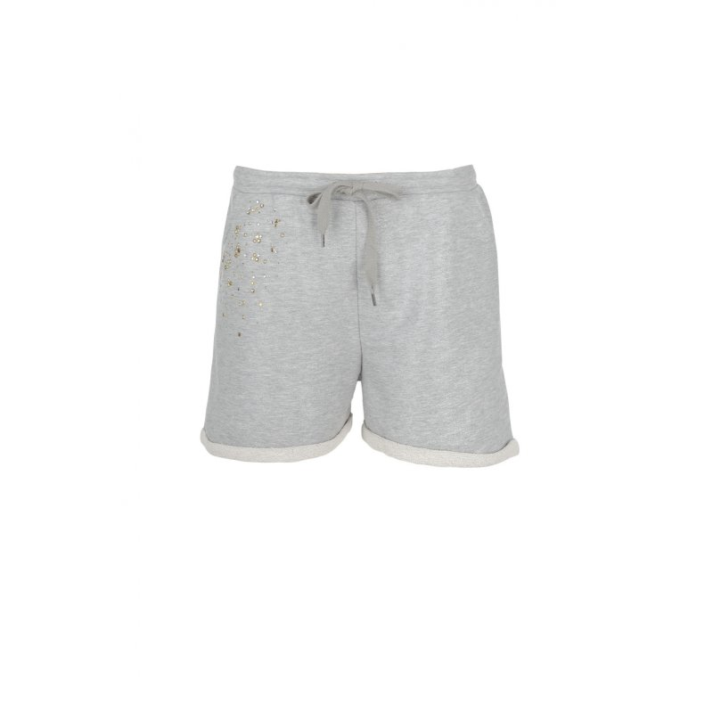 Shorts Twin-Set Jeans silver