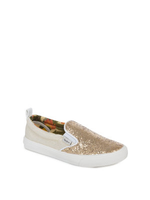 Pepe Jeans London Slip on Traveler Glitter