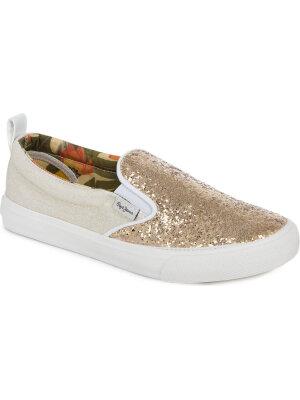 Pepe Jeans London Slip on Traveler Glitter