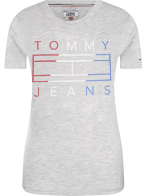 Tommy Jeans T-shirt Clean Tommy Flag | Regular Fit