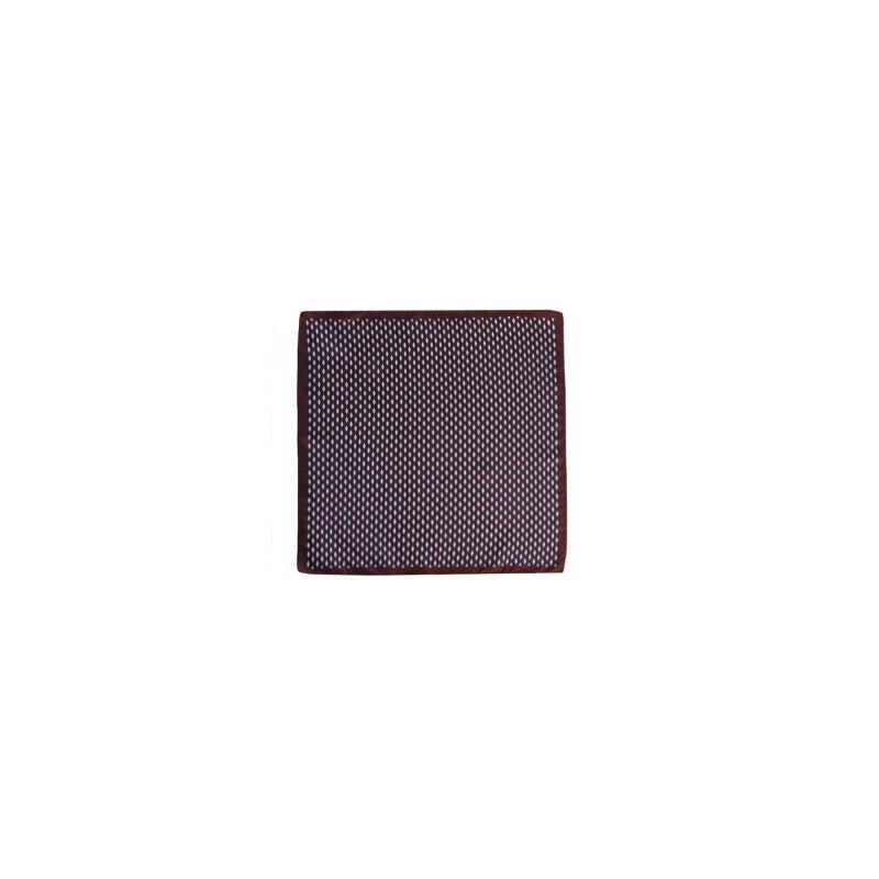 Poszetka Hugo brązowy
