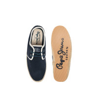 Espadryle Tourist Basic Pepe Jeans London granatowy
