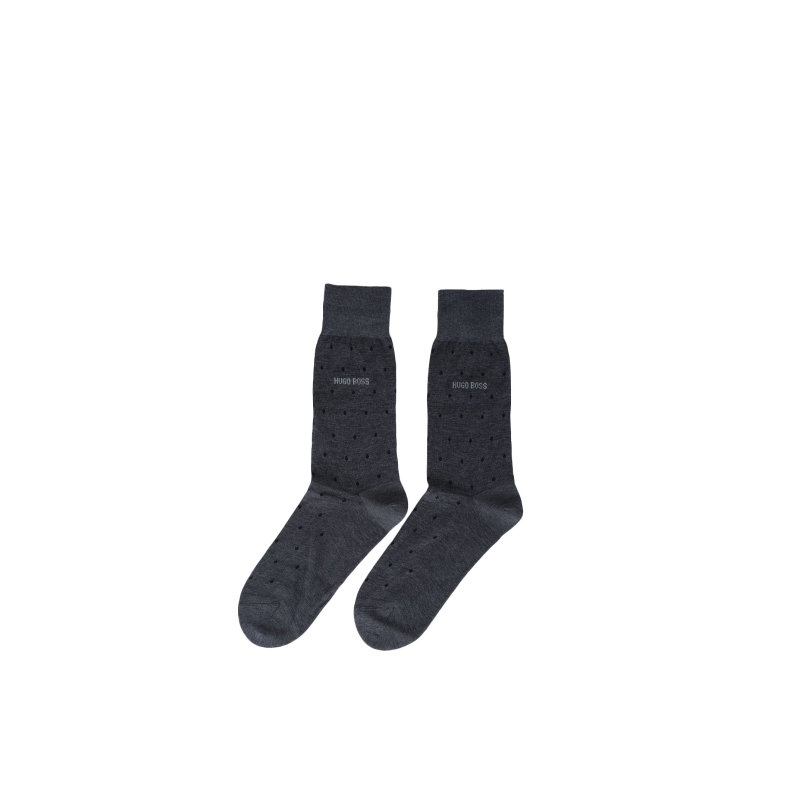 George Socks Boss charcoal