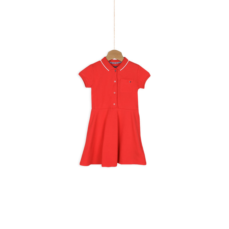 Sukienka Inger Tommy Hilfiger czerwony