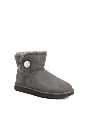 UGG Śniegowce MINI BAILEY BUTTON BLING