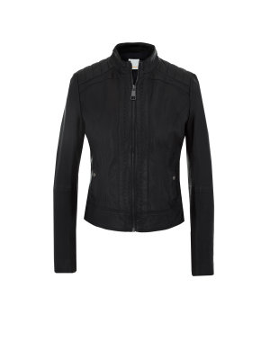 Boss Orange Janabelle4 leather jacket