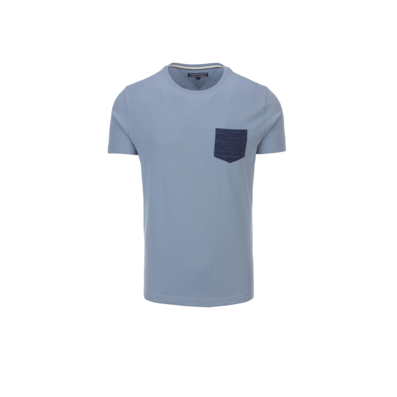 T-shirt NormanTee Tommy Hilfiger niebieski