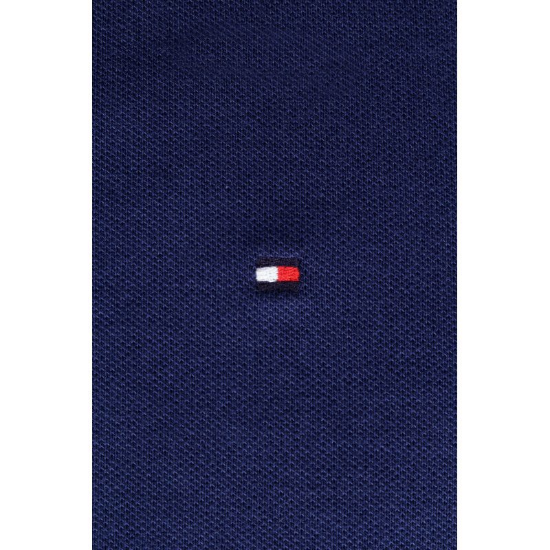 Polo Slim Fit Tommy Hilfiger granatowy