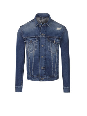 Pepe Jeans London Kurtka jeansowa Pinner