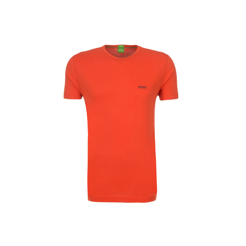 T-Shirt Tee Boss Green czerwony