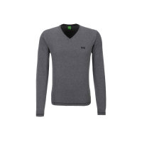 Sweter Vime_W16 Boss Green szary