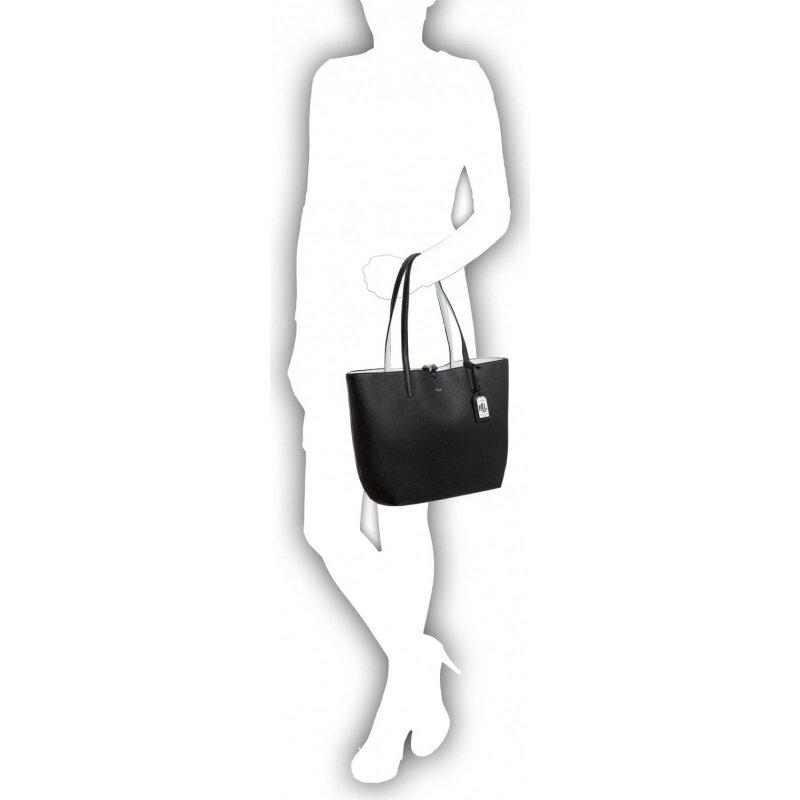 Dwustronna Shopperka Olivia Lauren Ralph Lauren czarny