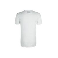 T-shirt Guess Jeans biały