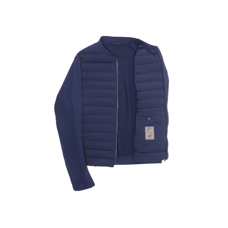 Kurtka Armani Collezioni niebieski