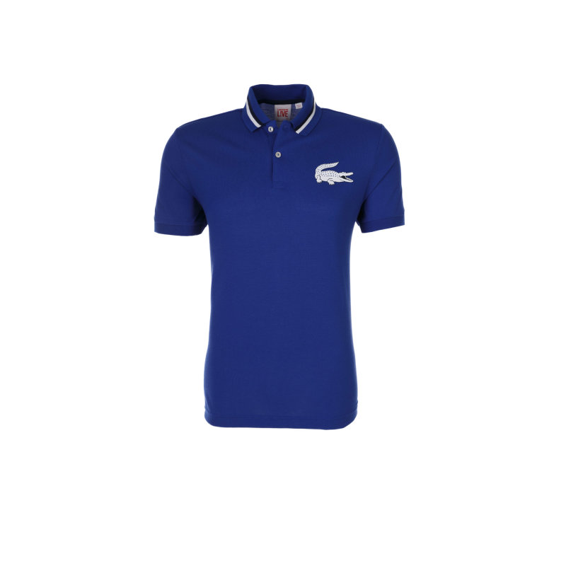 Polo Lacoste L!ve blue