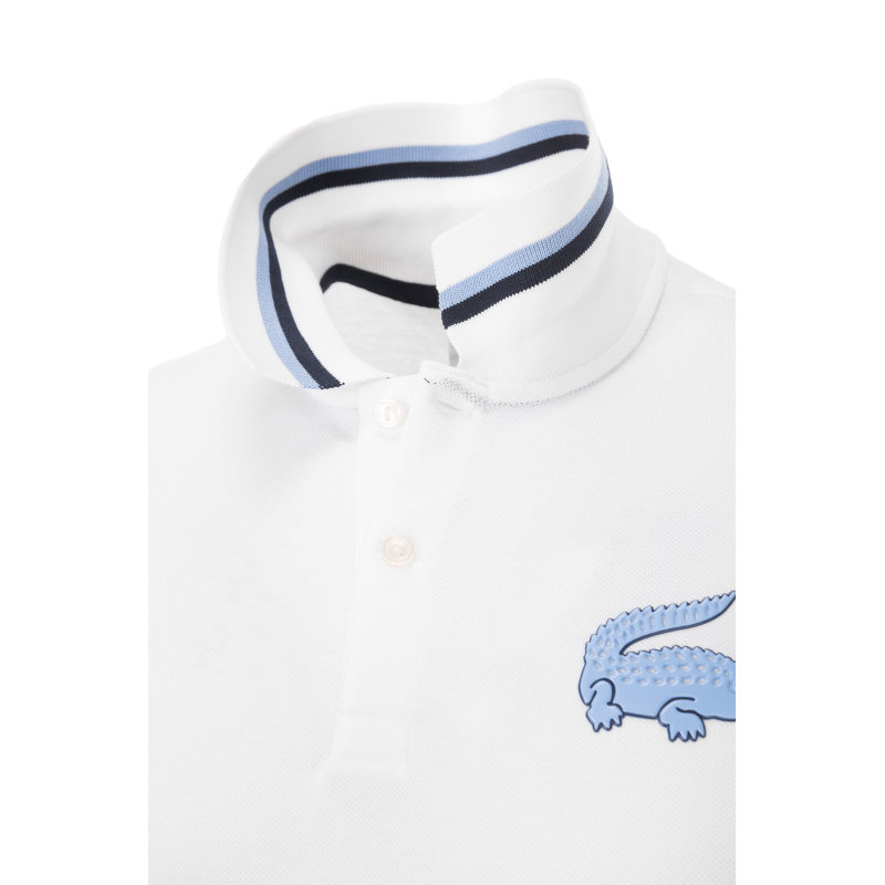 Polo Lacoste L!ve white