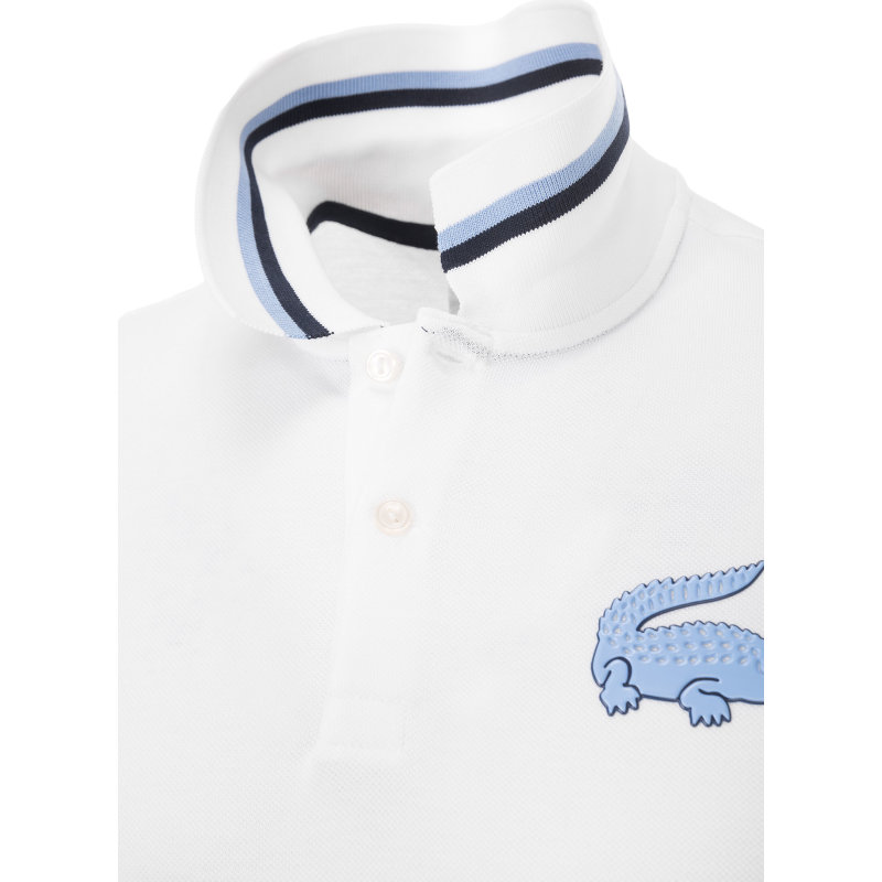 Polo Lacoste L!ve white