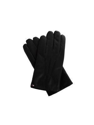 Tommy Hilfiger Leather Smartphone Gloves
