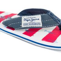 Japonki Magic Marine Pepe Jeans London niebieski
