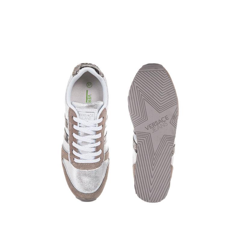 Sneakersy Versace Jeans srebrny