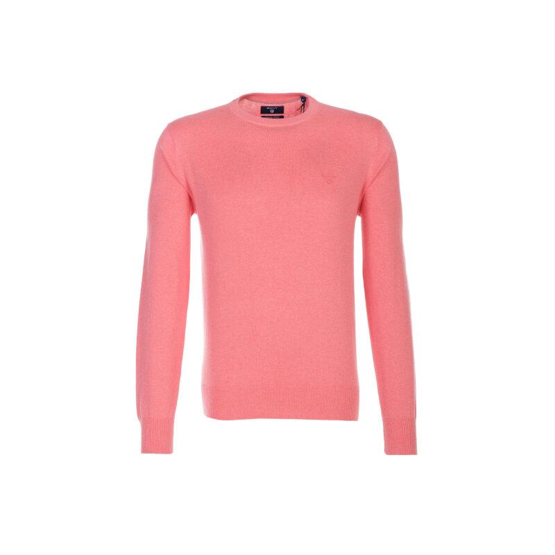 Sweter Gant różowy