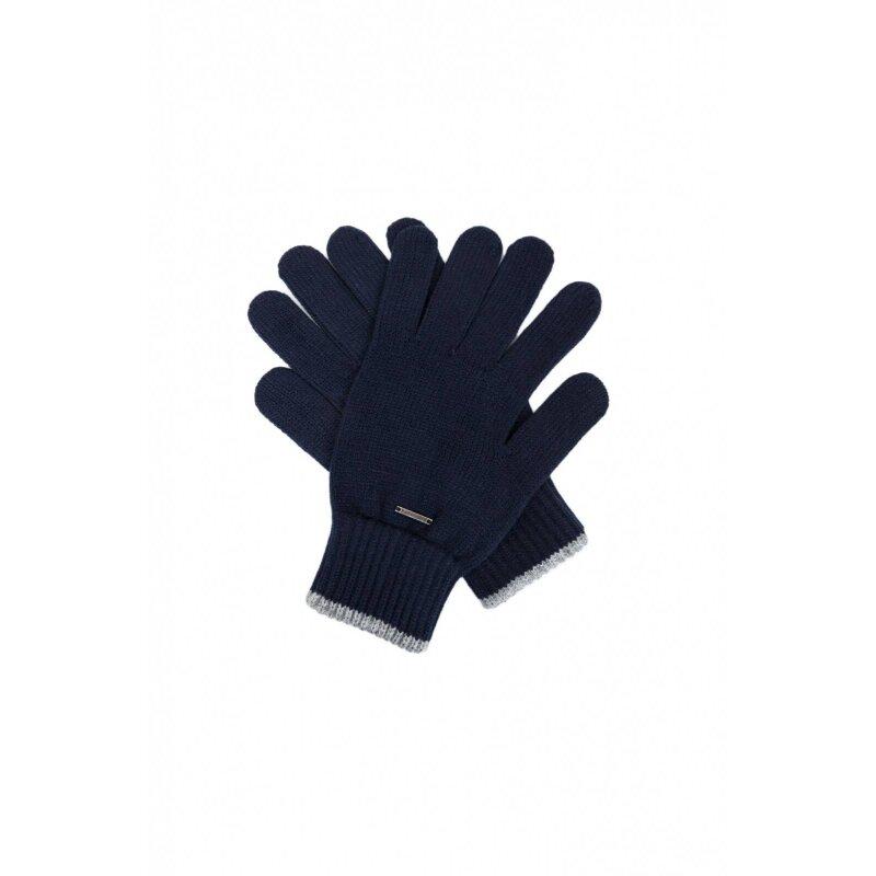 Rękawiczki Smith Calvin Klein Jeans granatowy