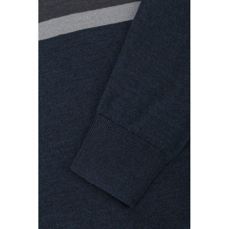 Sweter Armani Jeans granatowy