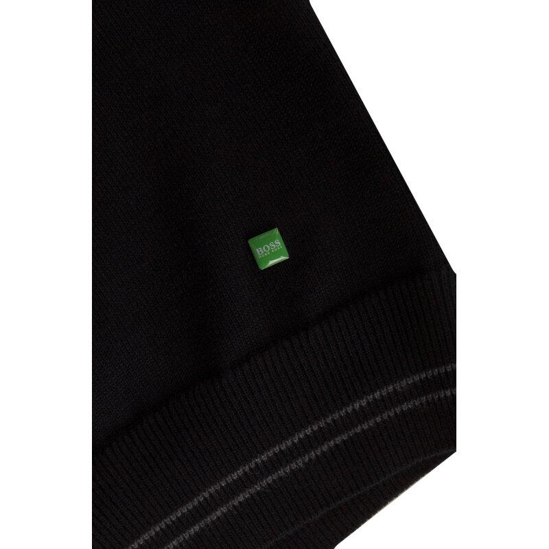 Sweter Vime Boss Green czarny