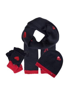 Tommy Hilfiger Beanie + Scarf + gloves